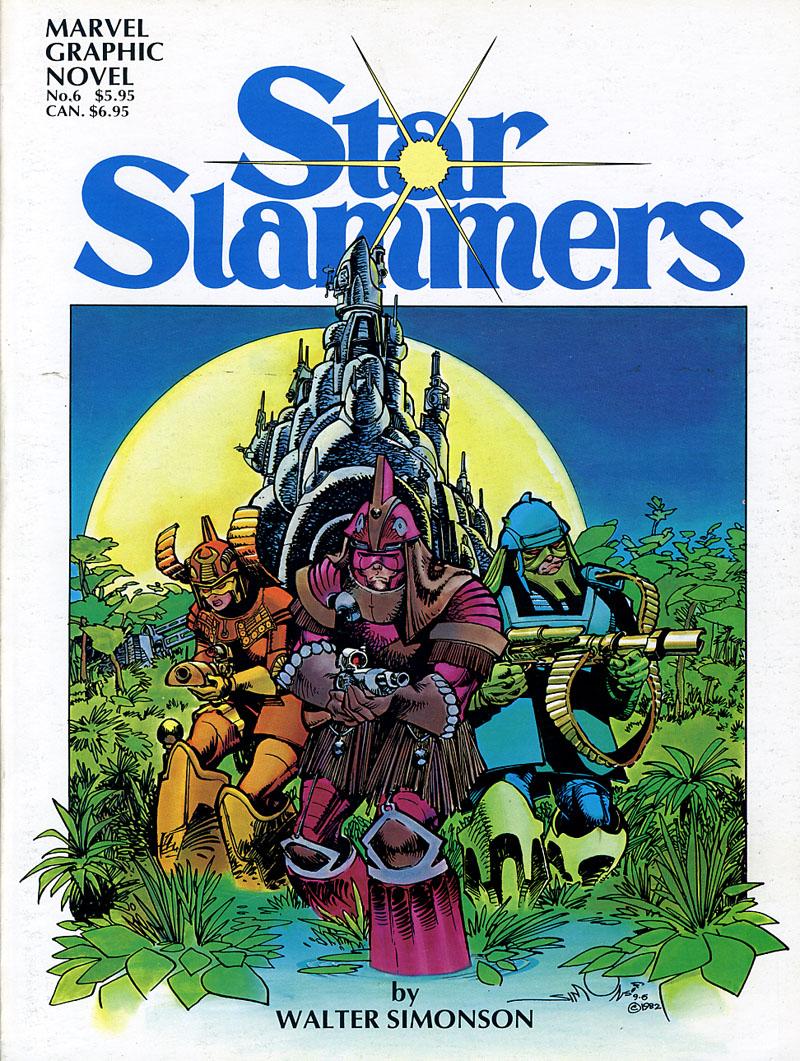 Marvel Graphic Novel #6 Star Slammers 1983 NM 1st Printing