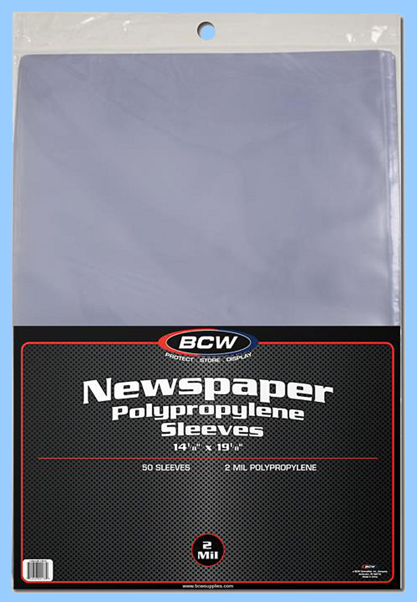 10 Packs    *FREE S/&H in USA Polypro Sleeves REGULAR POSTCARD SIZE:1000ct BCW